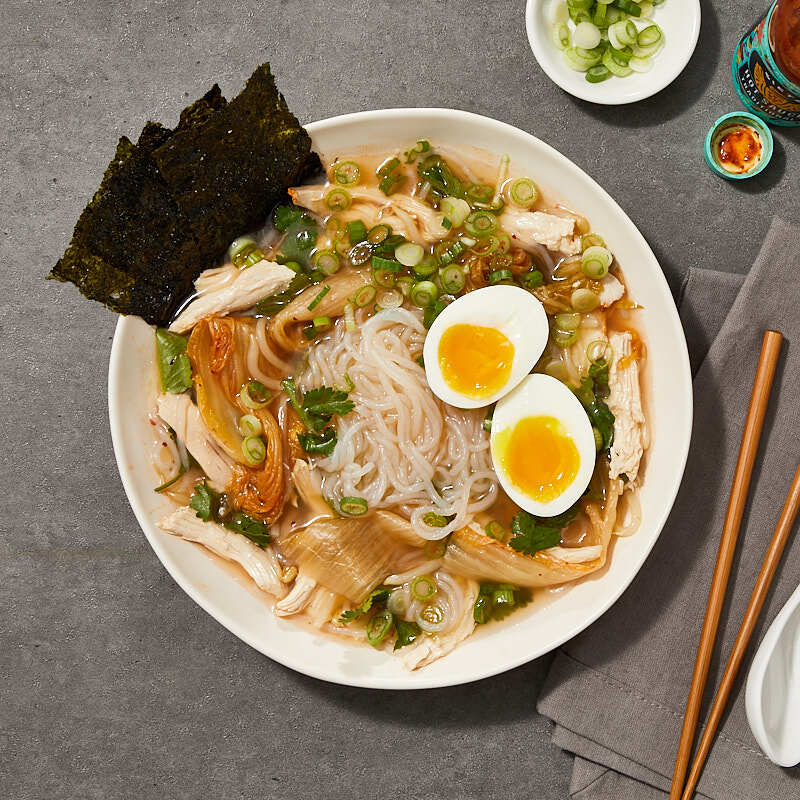 Photo of Ramen noodle bowl by Millie Peartree by WW