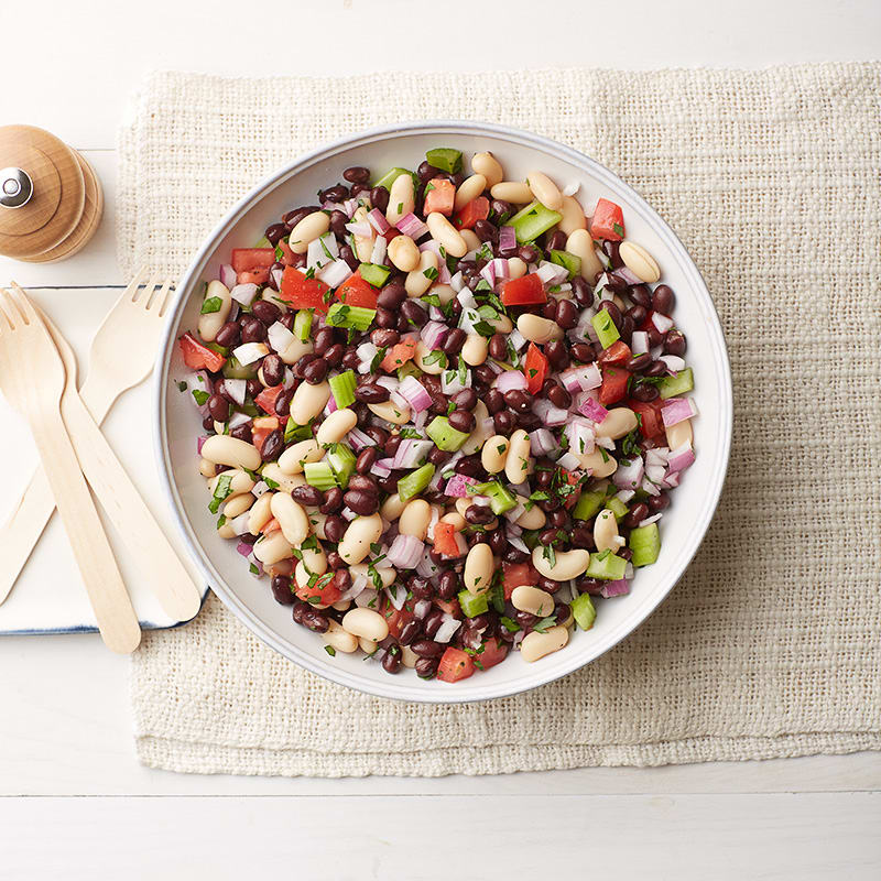 Photo of Black-and-white summer bean salad by WW