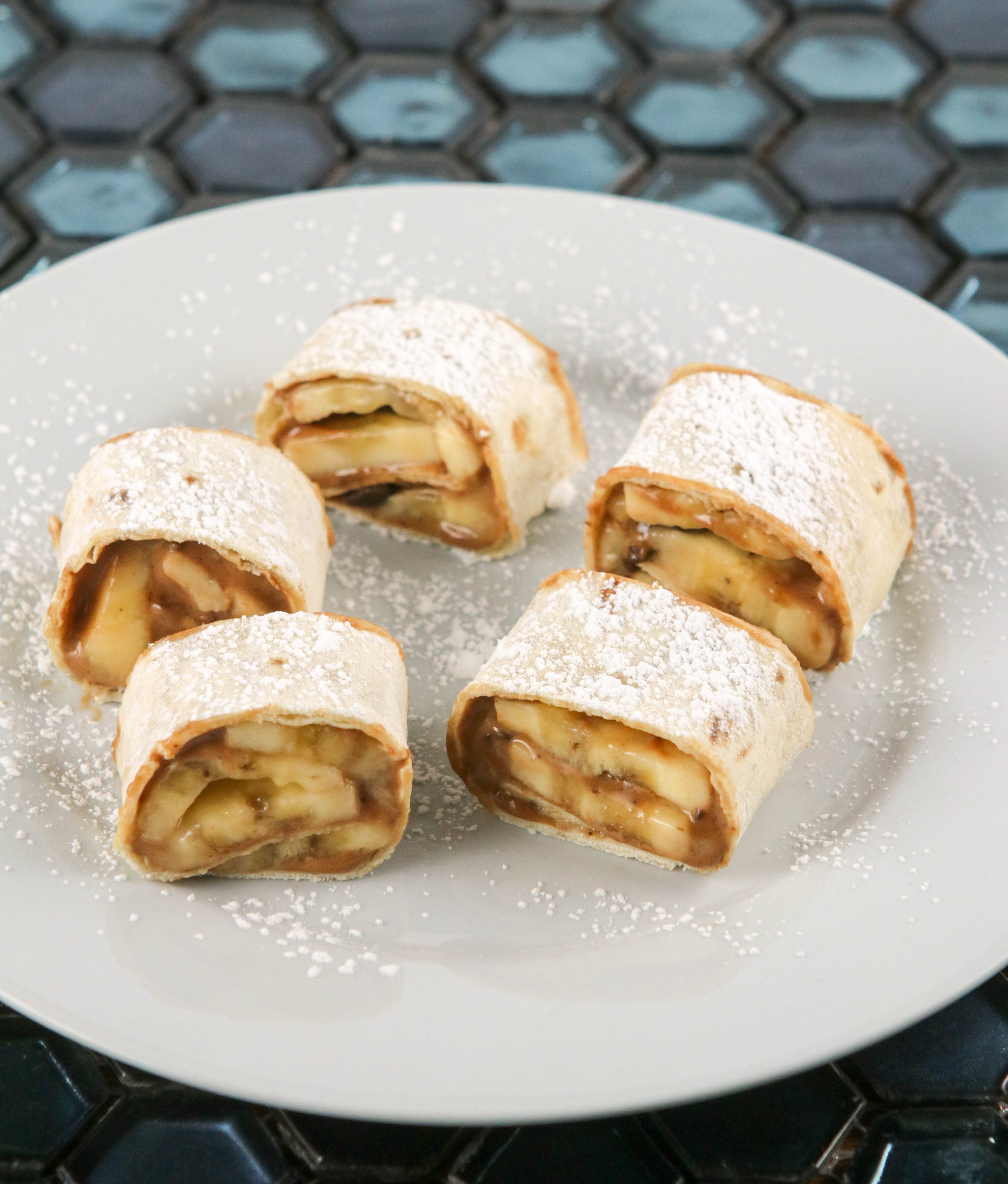 Photo of Chocolate, peanut butter and banana rugelach by WW