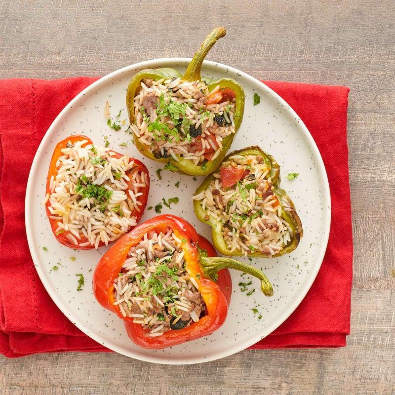 Photo of Italian-style stuffed peppers by WW