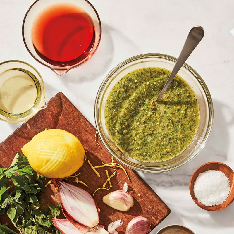 Photo of Fresh citrus-herb sauce by WW