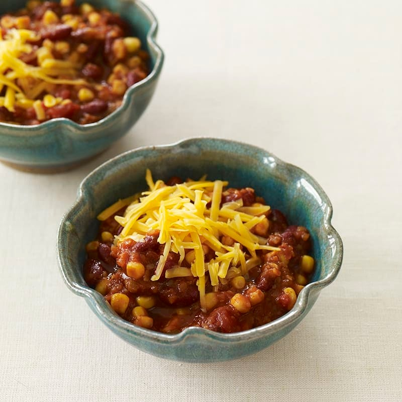 Photo of Quick vegetarian chili by WW
