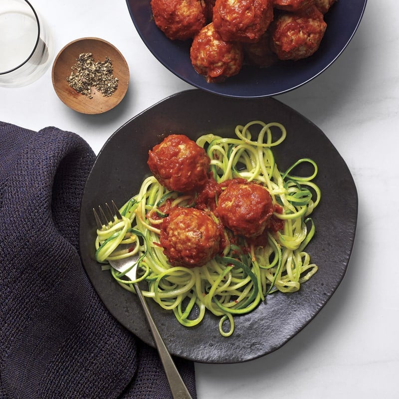 Photo of Slow cooker turkey meatballs with marinara by WW