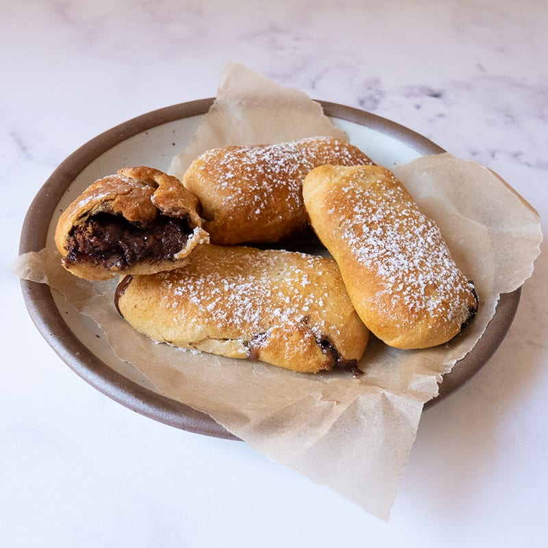 Photo of Air-Fried Chocolate Caramel Snack Bars by WW
