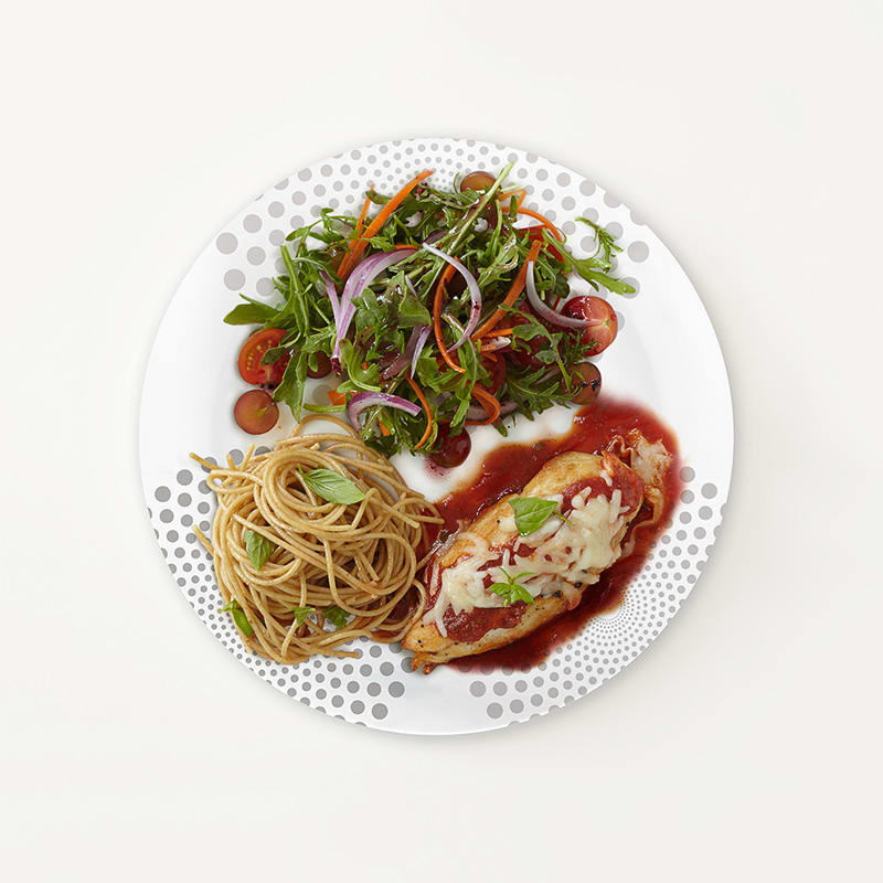 Photo of Portion Plate Chicken Parmigiana by WW