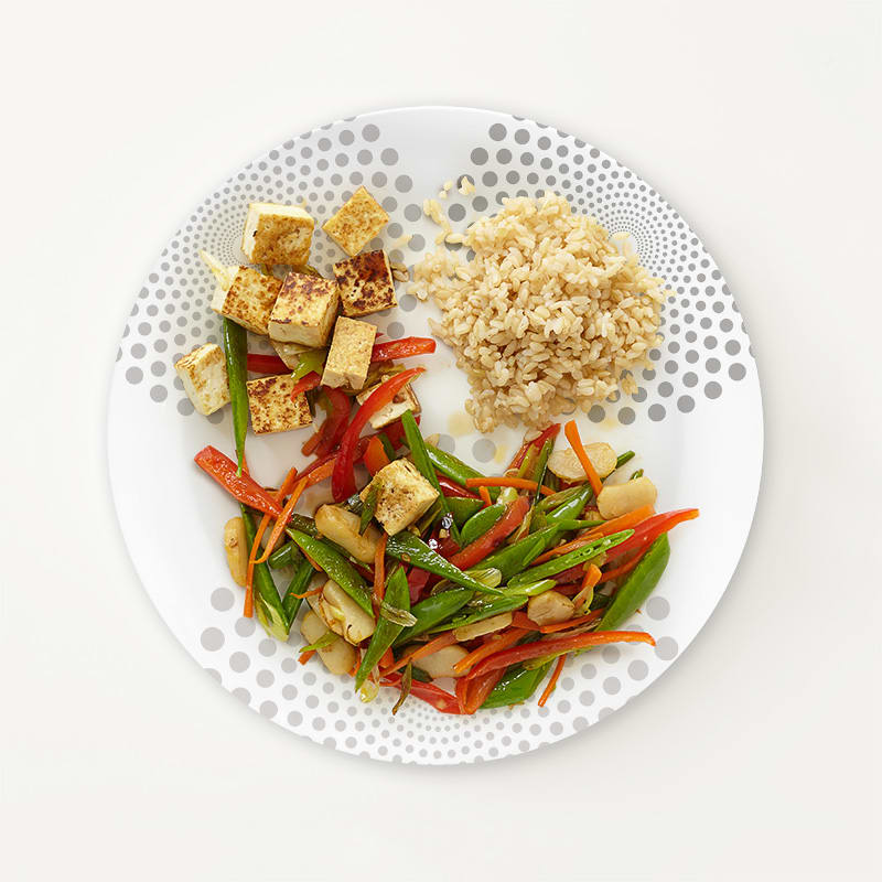Photo of Portion Plate Tofu Stir-Fry  by WW