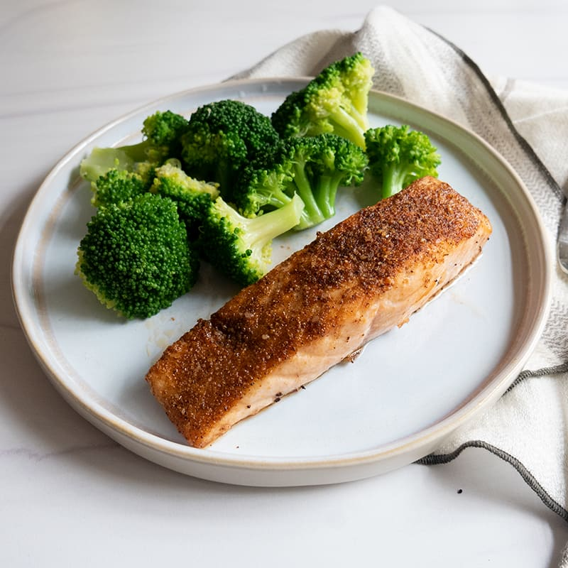 Photo of Air fryer spice-rubbed salmon by WW