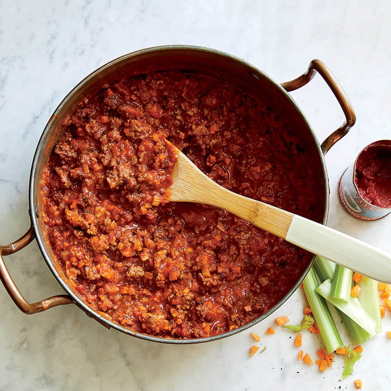 Photo of Homemade Bolognese sauce by WW