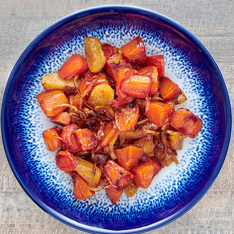 Photo of Maple and spice root vegetables by WW