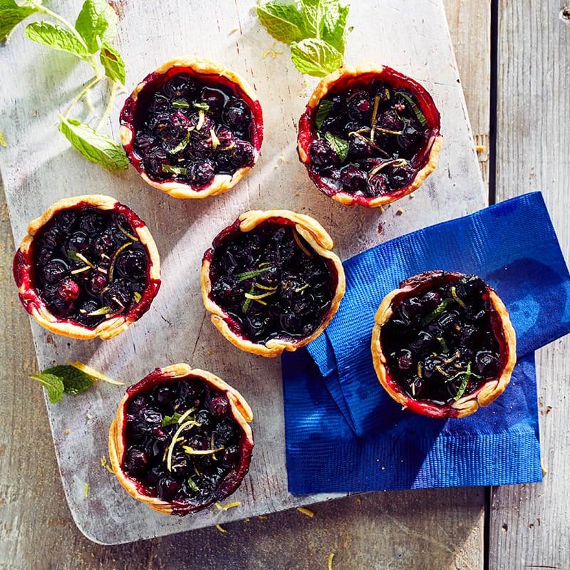 Photo of Wild blueberry hand pies by WW