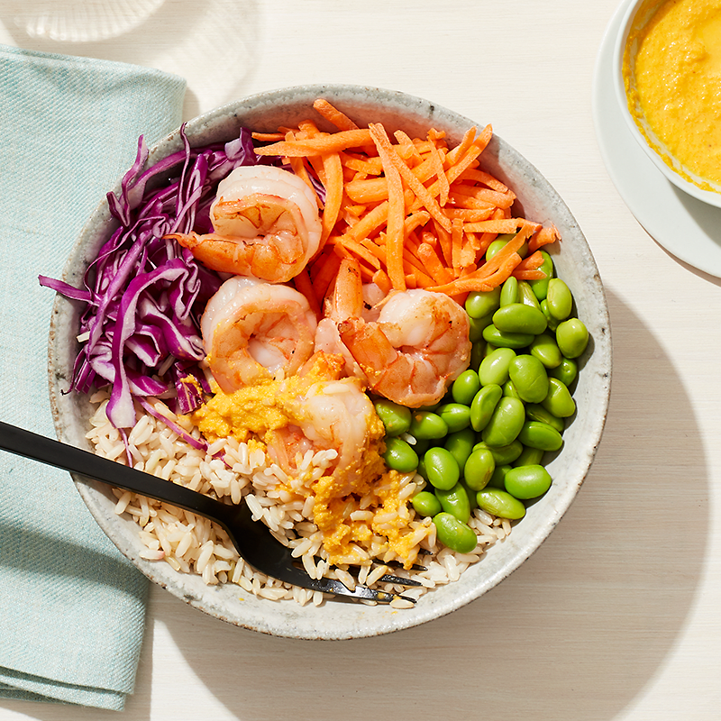 Photo of Easy shrimp and veggie bowl by WW