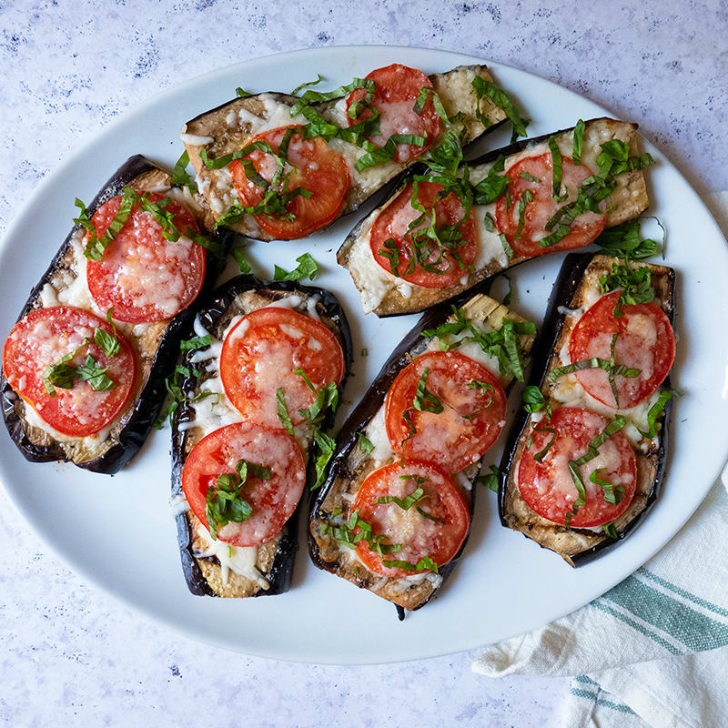 Photo of Grilled Eggplant Parmesan by WW