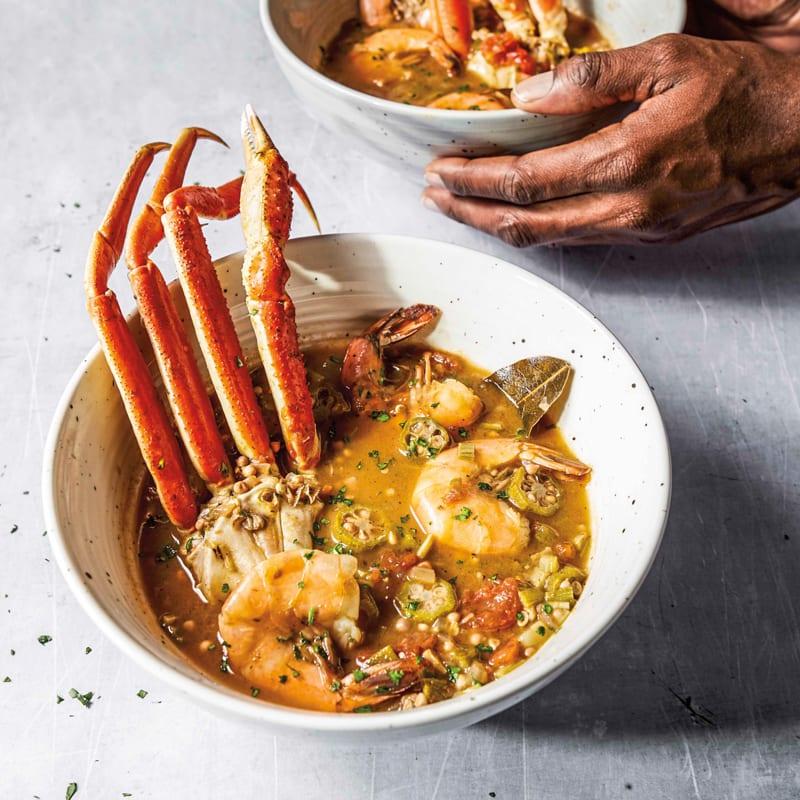Photo of Seafood & okra soup by WW