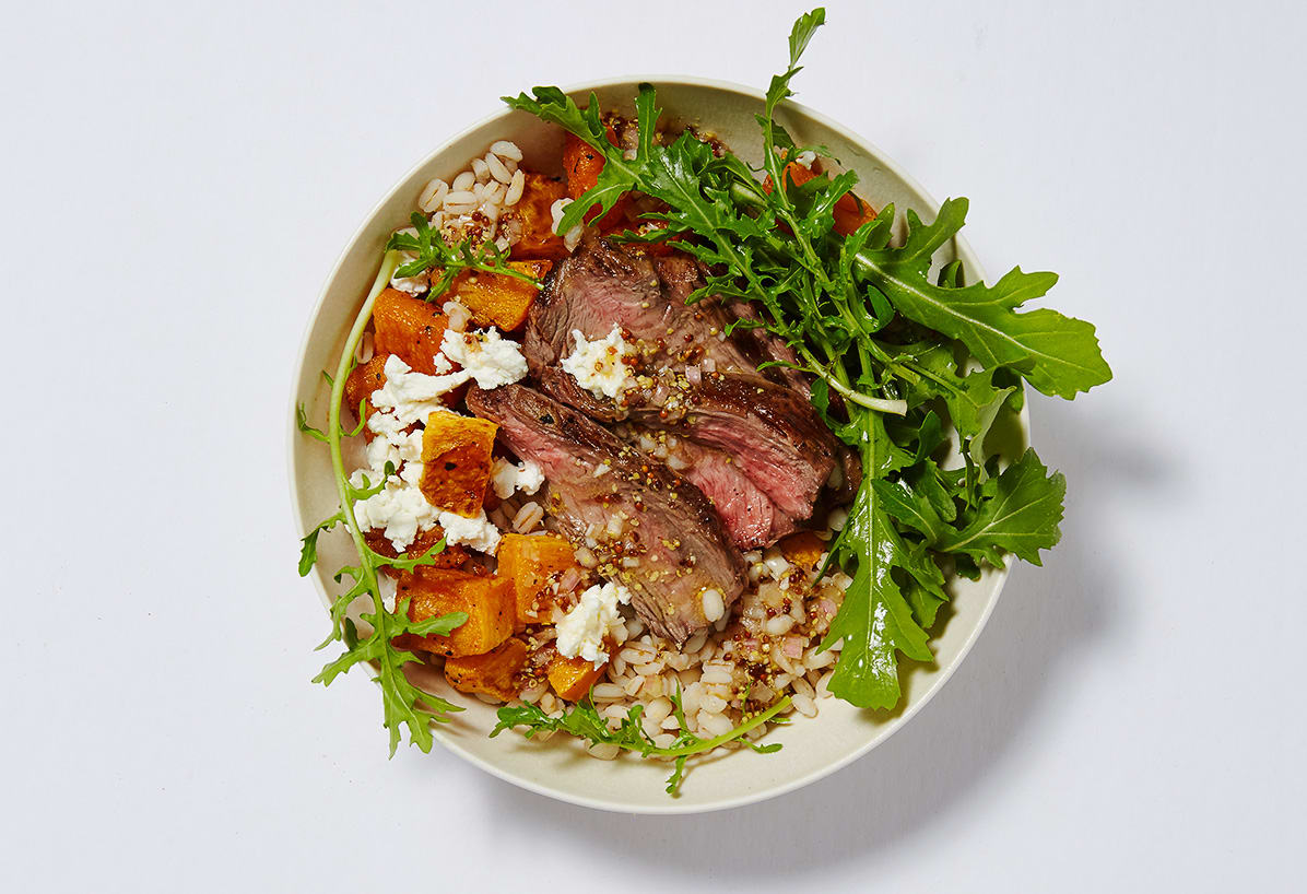 Photo of Hearty beef and barley bowl by WW