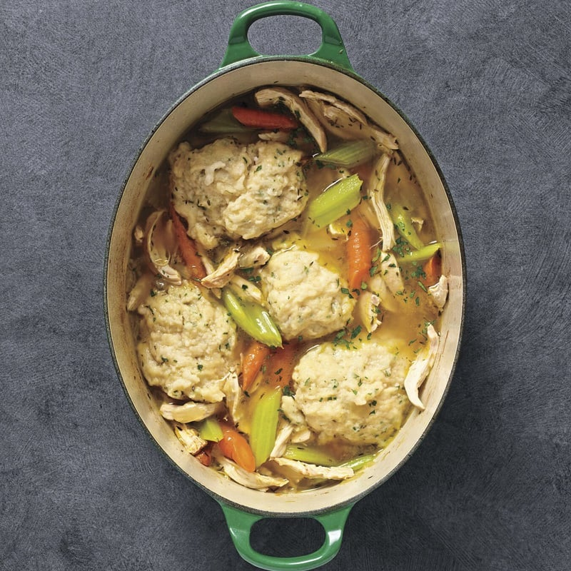 Photo of Hearty chicken stew with parsley dumplings by WW