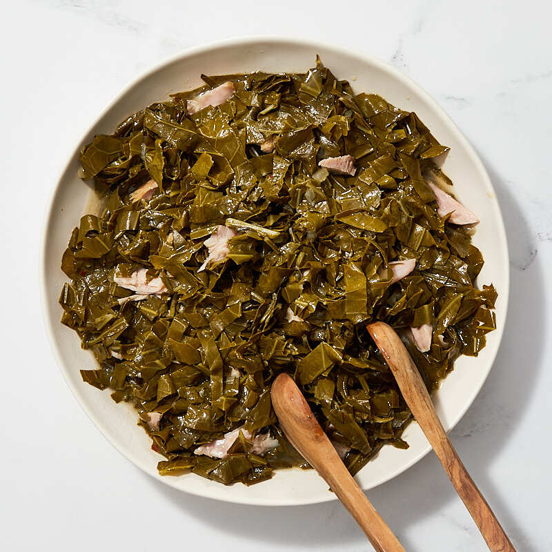 Photo of Low-country collard greens by Millie Peartree by WW