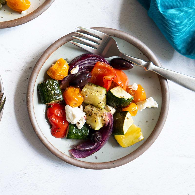 Photo of Roasted Greek salad by WW
