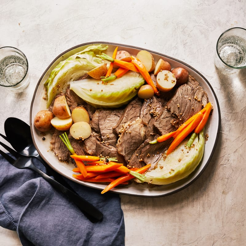 Photo of Corned beef and cabbage with red potatoes by WW