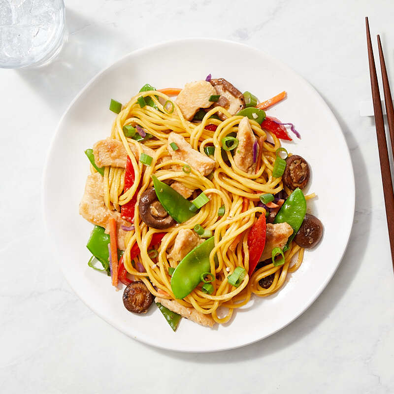 Photo of Chicken lo mein by WW