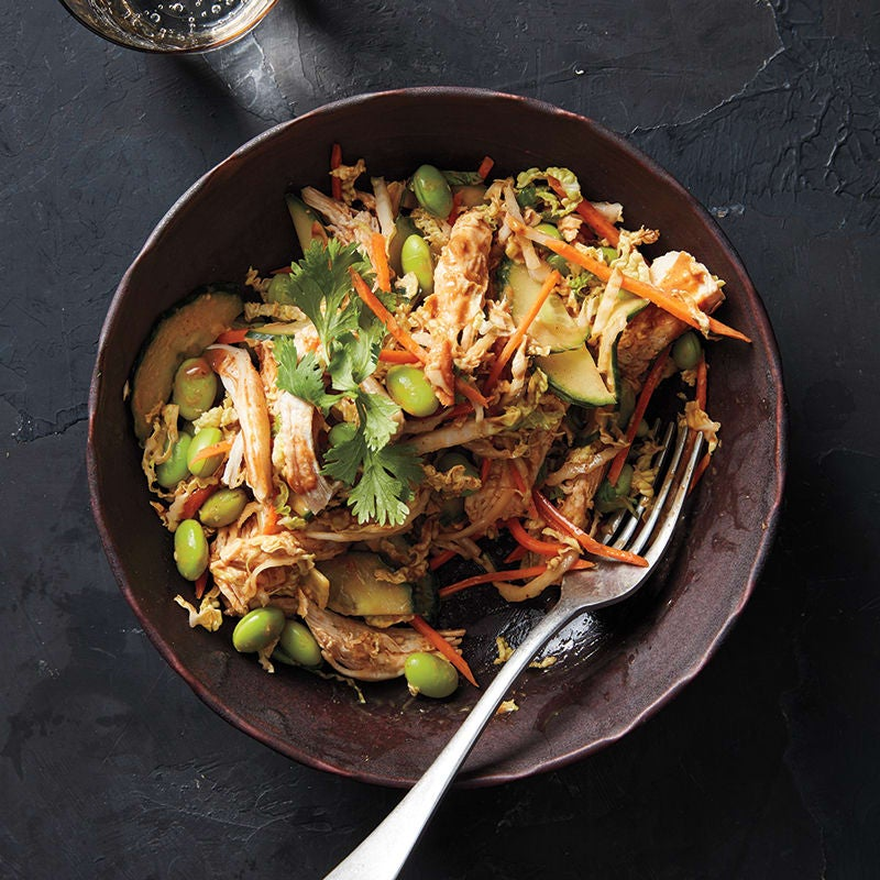 Photo of Asian noodle-peanut salad by WW
