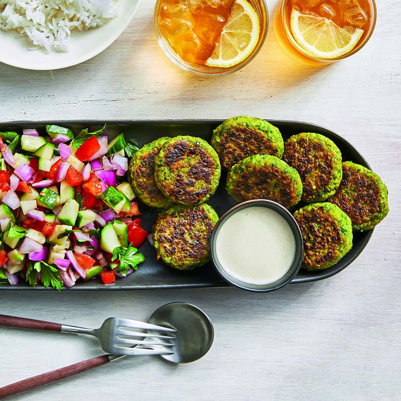 Photo of Easy falafel with creamy tahini sauce by WW
