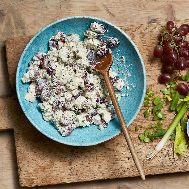 Photo of French Chicken Salad with Tarragon & Grapes by WW