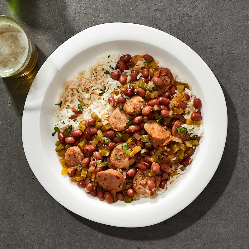 Photo of Cajun red beans and rice by Millie Peartree by WW