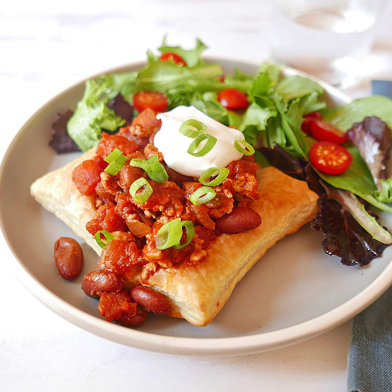 Photo of Puff pastry chili bowls by WW