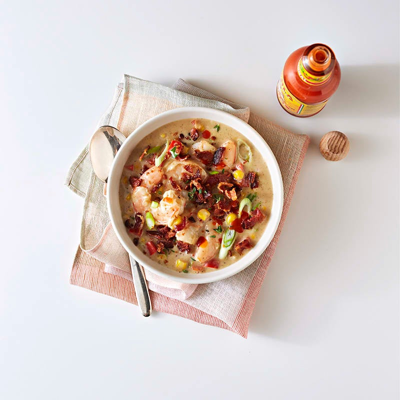 Photo of Easy shrimp chowder for one by WW