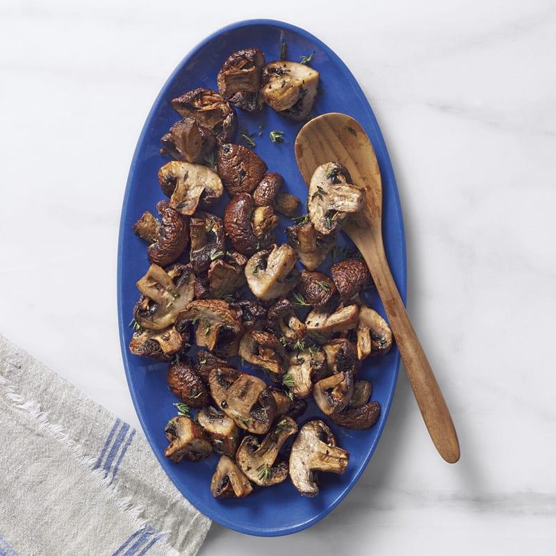 Photo of Air-fryer garlic-thyme mushrooms by WW