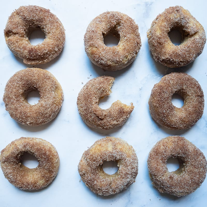 Photo of Baked apple cider doughnuts by WW