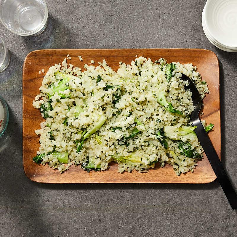 Photo of Bok choy cauliflower rice by Daphne Oz by WW
