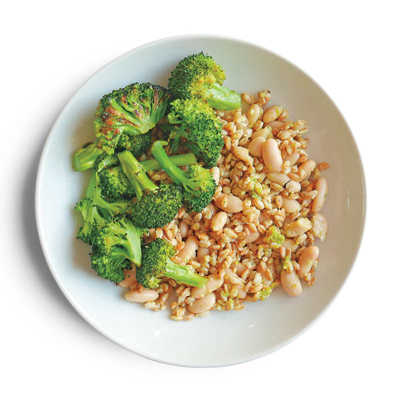Photo of Pesto-broccoli grain bowl by WW