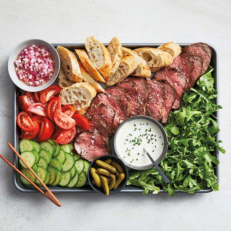 Photo of Beef tenderloin board by WW