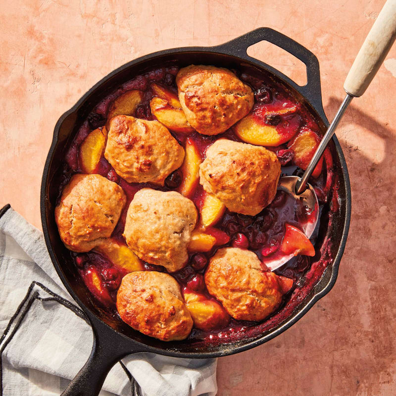 Photo of Grilled stone fruit cobbler by WW