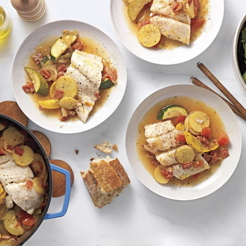Photo of Dutch-oven steamed cod by WW
