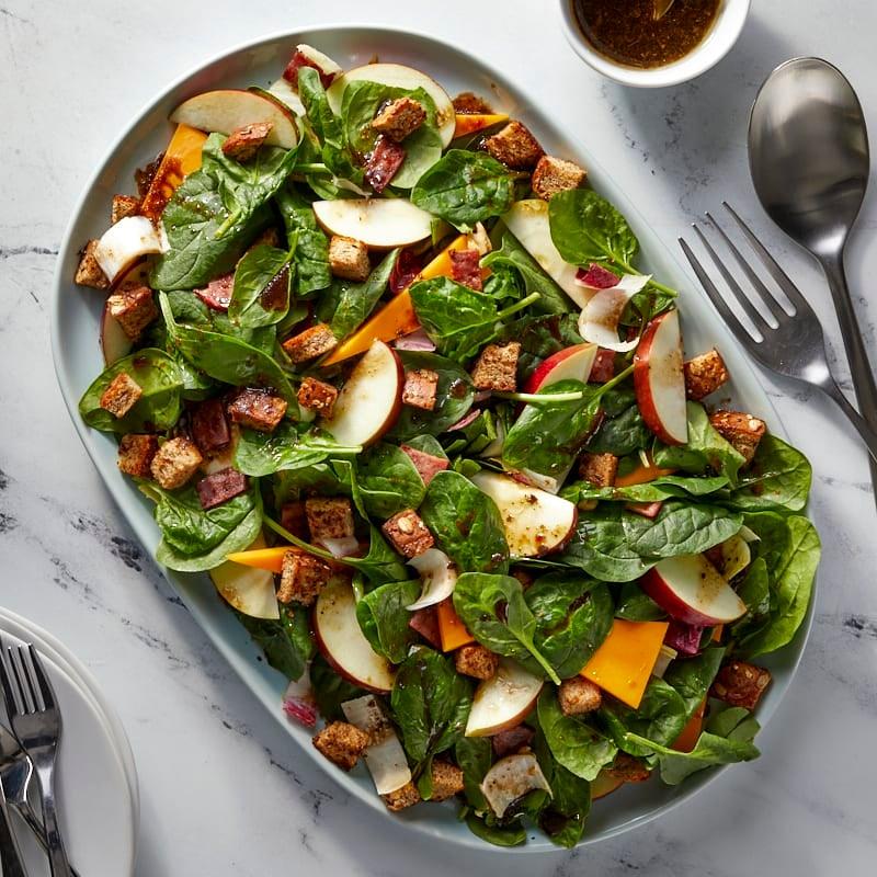 Photo of Cheddar, Apple, and Walnut Salad by WW