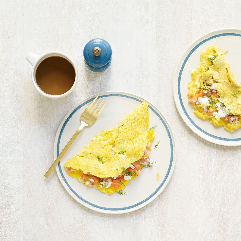 Photo of Smoked Salmon & Goat Cheese Omelet by WW