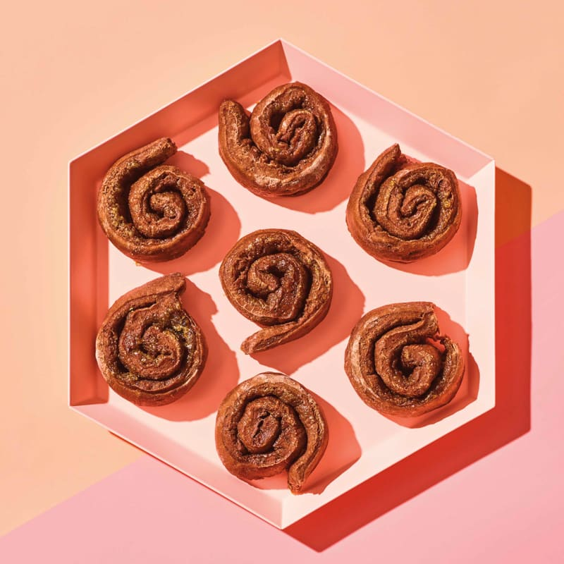Photo of Chocolate spiral biscuits by WW