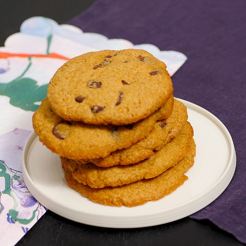 Photo of Chef Melissa's chocolate chip cookies by WW