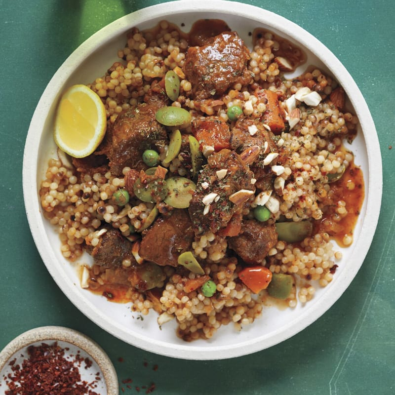 Photo of Lamb tagine with lemon and olives by WW