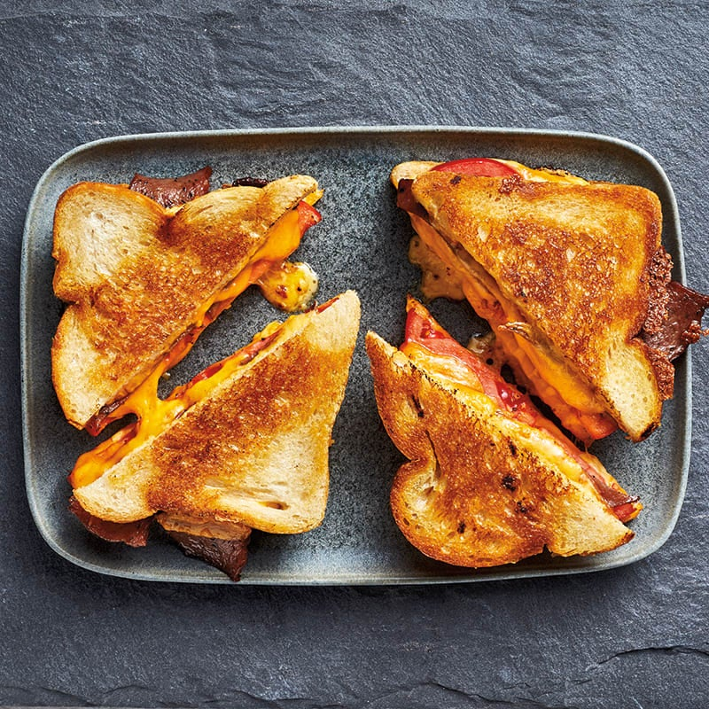 Photo of Classic grilled cheese with bacon and tomato by WW