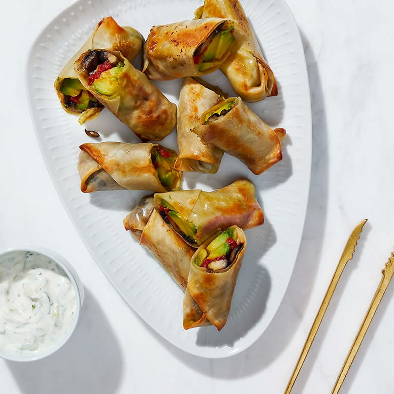 Photo of Baked avocado egg rolls by WW