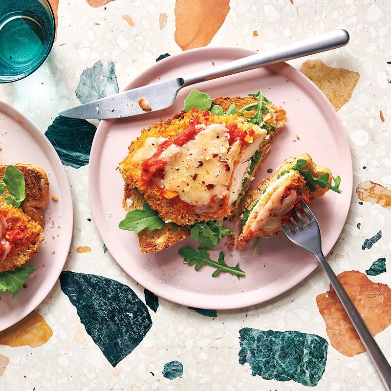 Photo of Chicken parmigiana sandwich by WW
