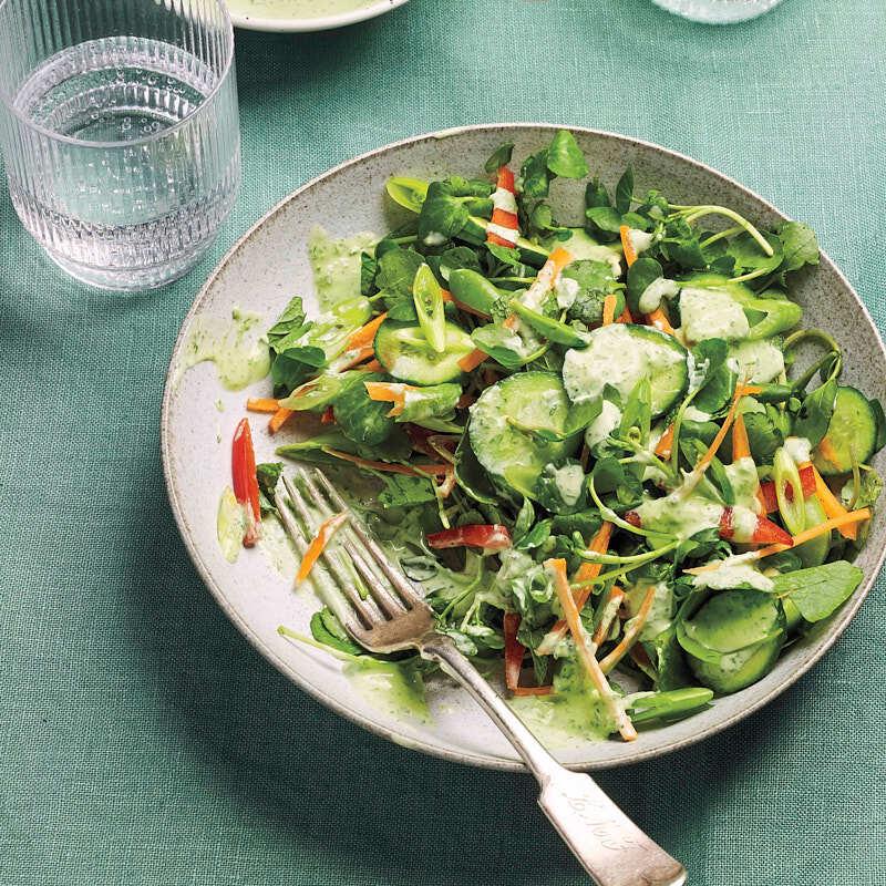 Photo of Green goddess garden salad by WW