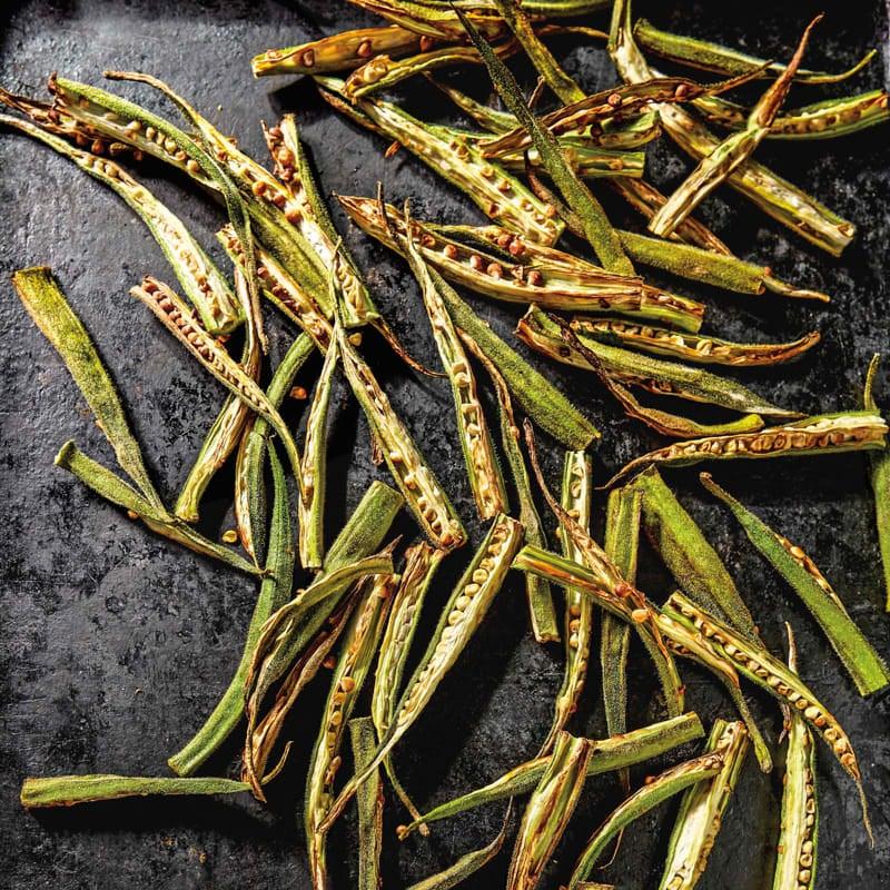 Photo of Crispy air-fried okra by WW