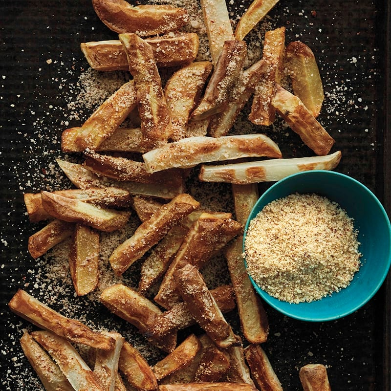 Photo of Cheese-dusted potato fries by WW