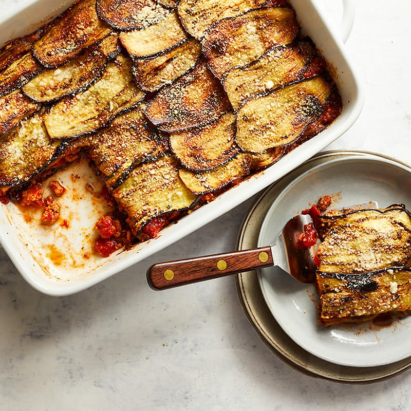 Photo of Eggplant and chicken casserole by WW
