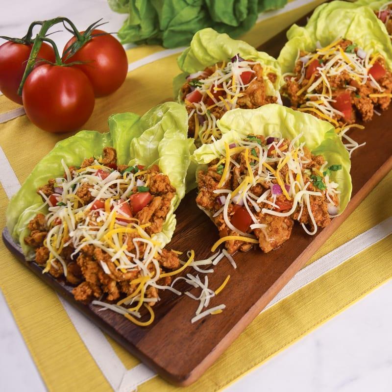 Photo of Ground turkey taco lettuce wraps by WW