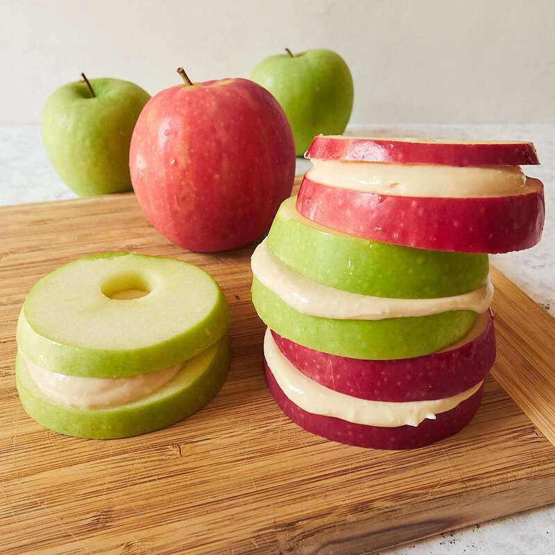 Photo of Caramel apple sandwiches by WW